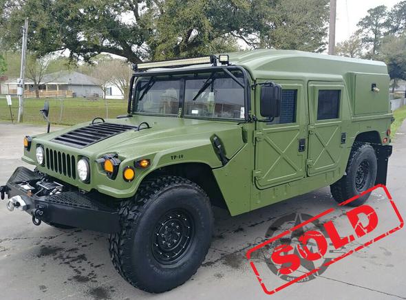 1988 Am General M998 Humvee Hard Top & Hard Door W/Winch