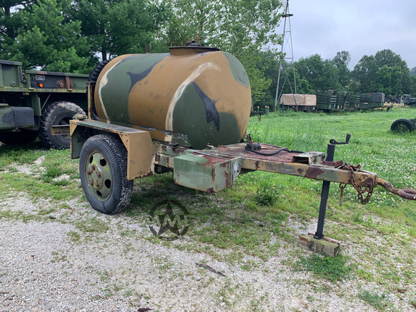 Portable Water Tank Trailer