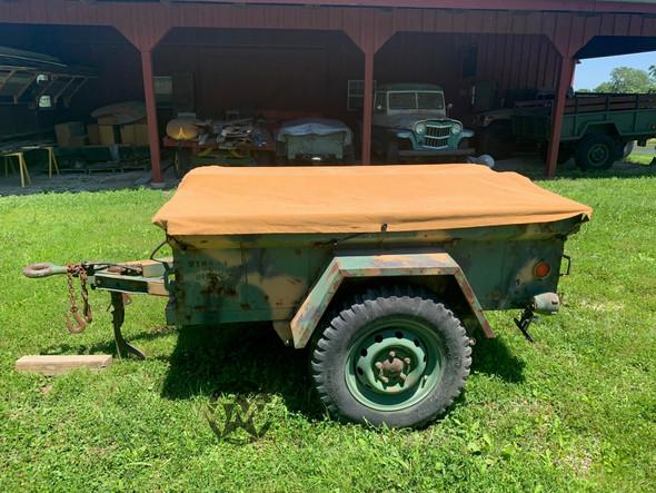 M416 1/4 Ton Military Trailer 1967