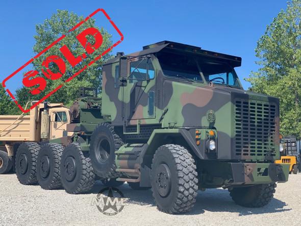 2002 Oshkosh M1070 8x8 HET Military Heavy Haul Tractor Truck
