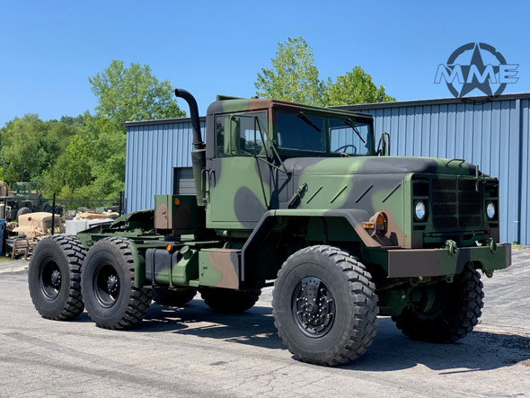 1991 BMY M931A2 6x6 Tractor Truck W/ Hard Top Cab