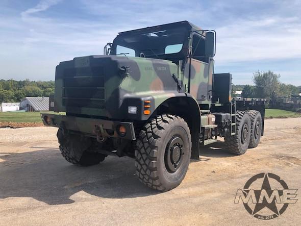 2001 Oshkosh MK23 MTVR 7 Ton 6x6 Cargo Truck
