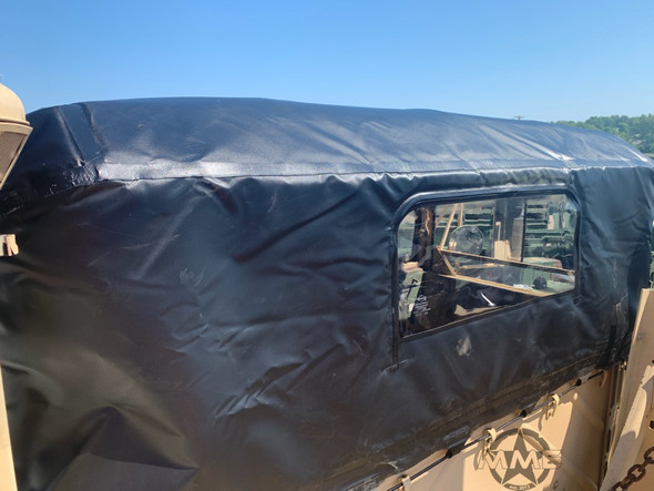 Insulated Black Soft Cab Top M939 Series 5 Ton Military Trucks