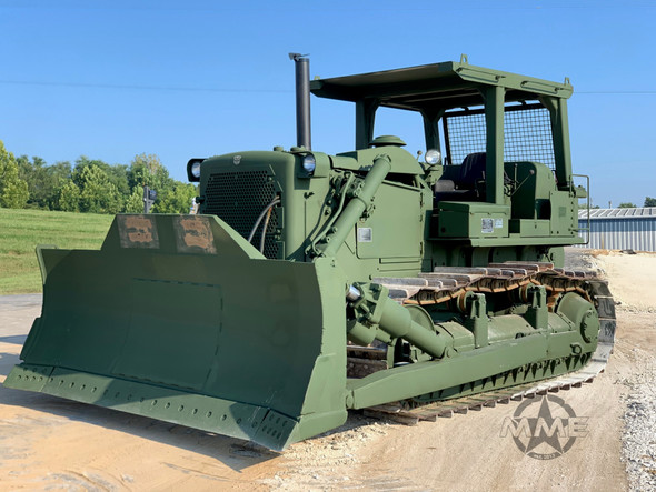 Caterpillar D7-F Dozer With Hyster Rear Winch