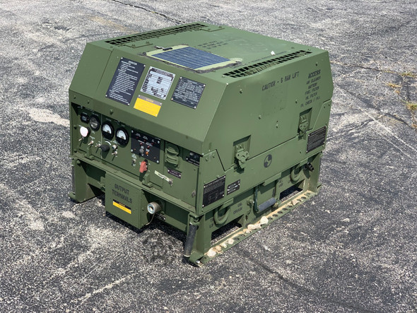 MEP-831A DIESEL GENERATOR 3KW 60HZ TACTICAL QUIET ONLY 3.9 Hours!!