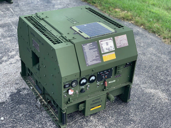MEP-831A DIESEL GENERATOR 3KW 60HZ TACTICAL QUIET ONLY 3.1 Hours!!