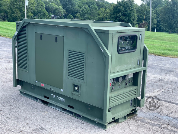 35kw HDT POWER SYSTEMS TACTICAL DIESEL GENERATOR / JOHN DEERE 3 CLY TURBO