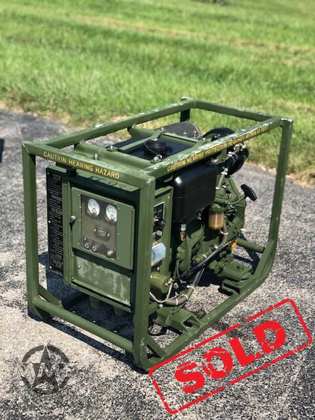 Dewey MEP-531A  2KW  Generator Set
