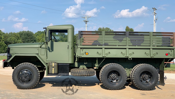2 1/2 TON M35A2C HARDTOP 6X6 MILITARY TRUCK.