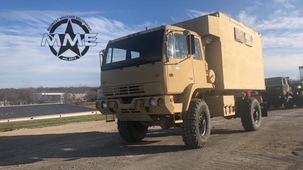 1998 Stewart & Stevenson M1079 2 1/2 Ton LMTV 4x4 Camper Truck