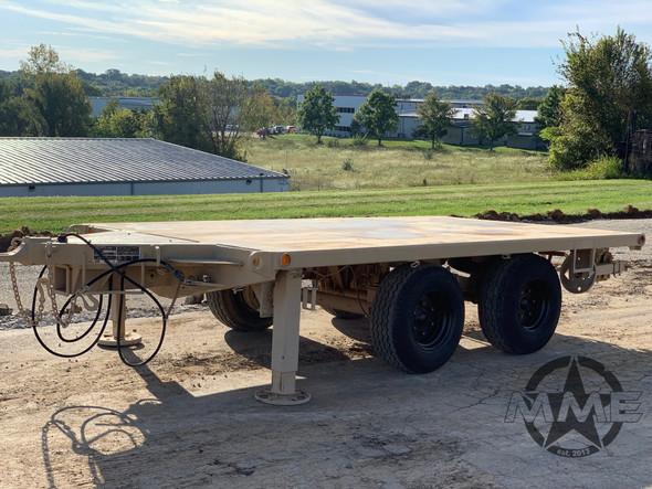 2008 M1061A1 Flatbed General Purpose 5 Ton Military Trailer