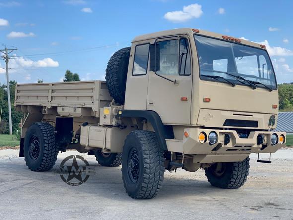 1997 Stewart & Stevenson M1078 4X4 2 1/2 Ton Cargo Truck Drop Side
