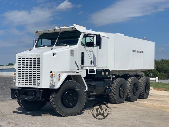1994 Oshkosh M1070 8x8 HET Military Heavy Haul Water Truck