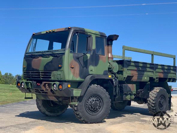 1998 Stewart & Stevenson M1078 4X4 2 1/2 Ton Cargo Truck W/Winch.