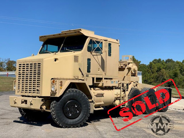 1994 Oshkosh M1070 8x8 HET Military Heavy Haul Semi Tractor Truck