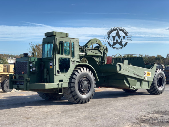 Cat 621B EX Military Motor Scraper