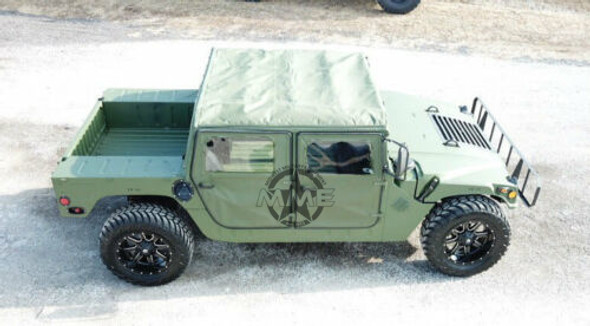 4 Man Soft Top GREEN for HMMWV Humvee