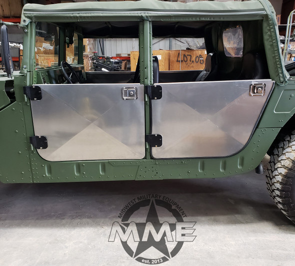 1/8'' Aluminum 4 Man Half Door Kit For HMMWV Humvee M998