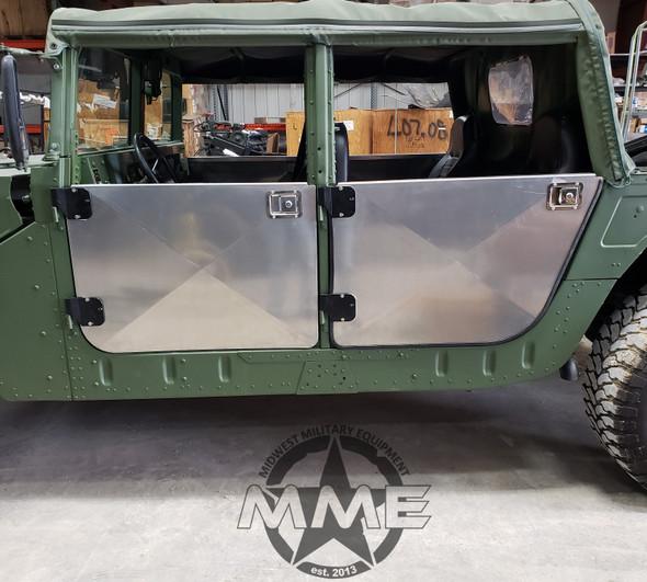 1/8'' Aluminum Half Door Kit FOR HMMWV / HUMVEE