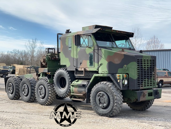 1994 Oshkosh M1070 HET 8x8 Military Heavy Haul Semi Tractor Truck