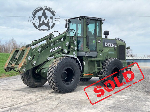 2008 John Deere 624KR Wheel Loader 624K