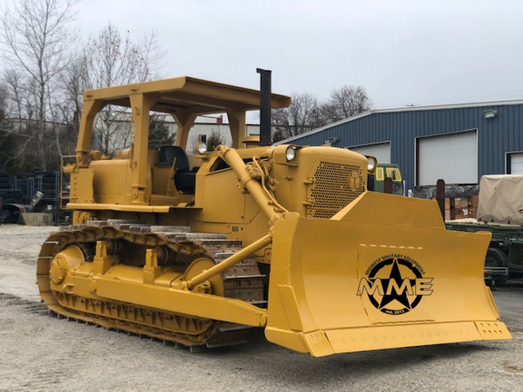 Caterpillar Ex-Military D7-F Dozer With Hyster Rear Winch