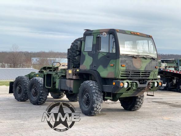 2002 Stewart & Stevenson M1088A1 5 Ton 6x6 Military Semi Truck