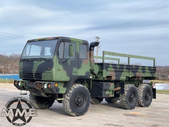 1997 Stewart & Stevenson M1083 MTV 6x6 5 Ton Military Cargo Truck