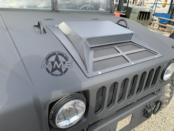 Forced Air Hood Scoop for Humvee/ HMMWV/ H1 (Satin Powdercoat)