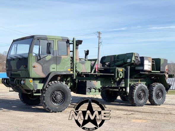 1993 Stewart & Stevenson M1089 Military 6x6 Wrecker Truck