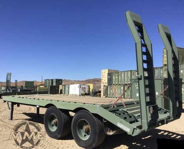 2012 Globe GTTU202-30-20 T/A Equipment Trailer