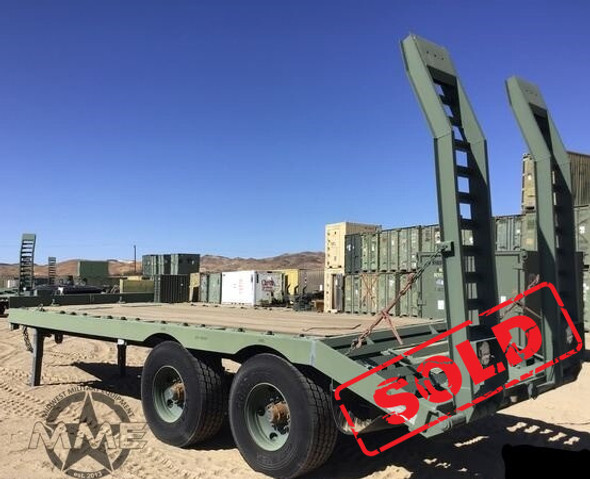 2012 Globe GTTU202-30-20 T/A Heavy Equipment Trailer