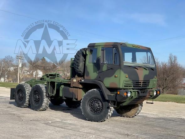 1998 Stewart & Stevenson M1088 Military MTV 6x6 Tractor Truck