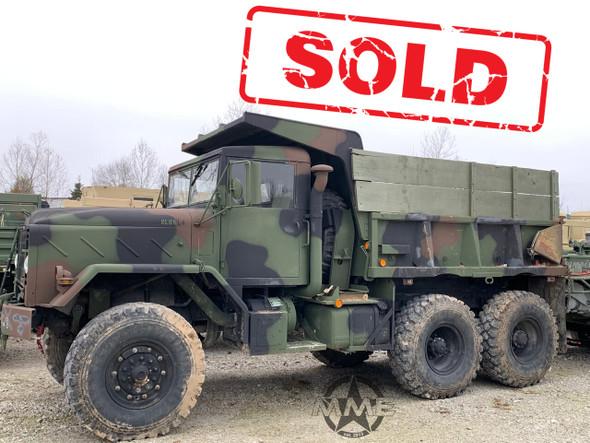 2011 Rebuild M929A2 BMY 6x6 Dump Truck