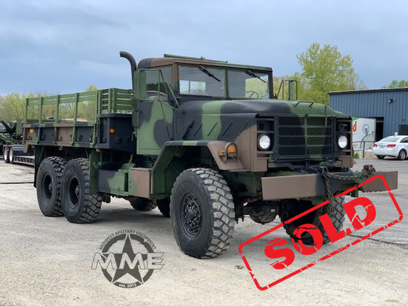 Am General M925A1 5 TON MILITARY 6 X 6 Cargo TRUCK With Winch