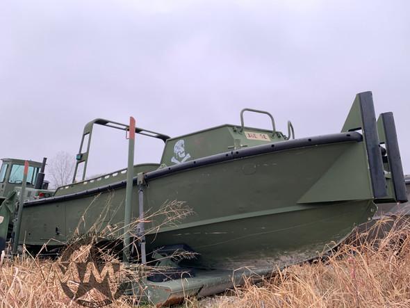 American Development MKII Bridge Erection Boat w/M-14 Boat Craddle