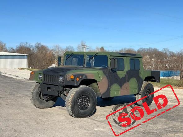 Am General M1123 Humvee 4-speed 36 Miles!