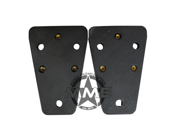 AFTERMARKET MIRROR ADAPTER PLATES For HUMMER H1 (SET OF 2)