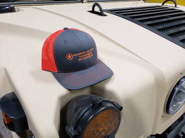 MME Mesh Back Trucker Cap Snapback Hat