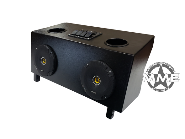 Marine Grade Radio System for HUMVEE/HMMWV (Kicker)