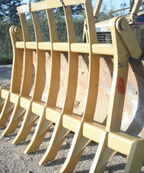 Dozer Rakes with Brush Guard