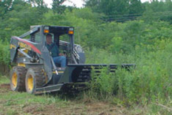 Skid Steer Brush Cutter (LOW FLOW 14-20 GPM)
