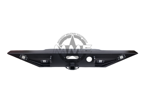 Rear Winch Step Bumper with Reverse/Accessory Light for HMMWV/ Humvee