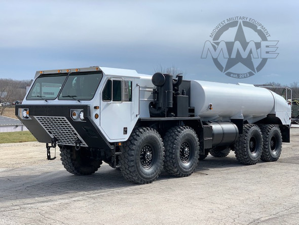 2006 Rebuild Oshkosh M978 Hemtt Tanker Truck 8x8 W/Winch