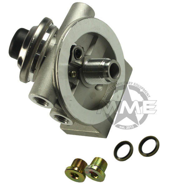 Fuel Filter Adapter Head with Primer LMTV