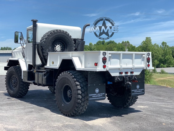 Highly Customized Bobbed M931A2 5 Ton 4X4 Truck