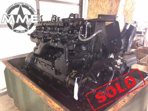 Complete Cummins NHC 250 855ci Diesel Engine