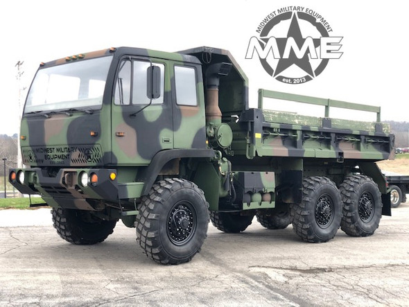 1994 Stewart Stevenson M1090 5 Ton MTV 6x6 Dump Truck