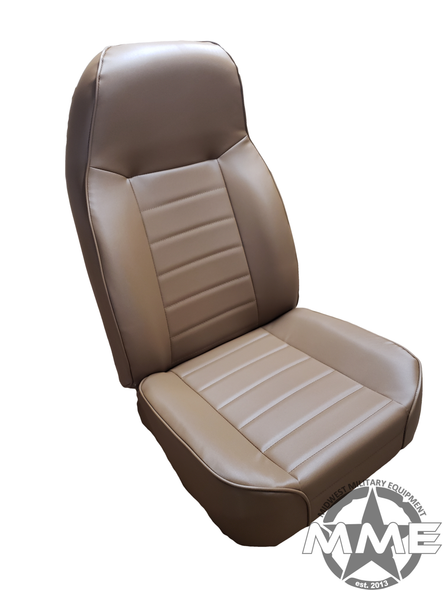 Dark Brown Bucket Seat (Single)