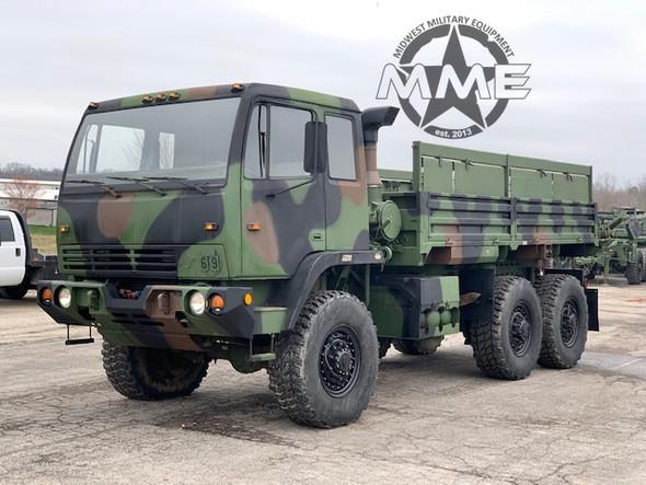 1997 Stewart & Stevenson M1083 MTV 6x6 Cargo Truck